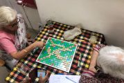One word, One Upmamship: Let's Play Scrabble !!
