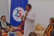 Kamal Nath met women journalists